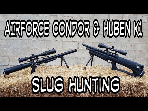 Airforce Condor & Huben K1 - Hunting With Slugs