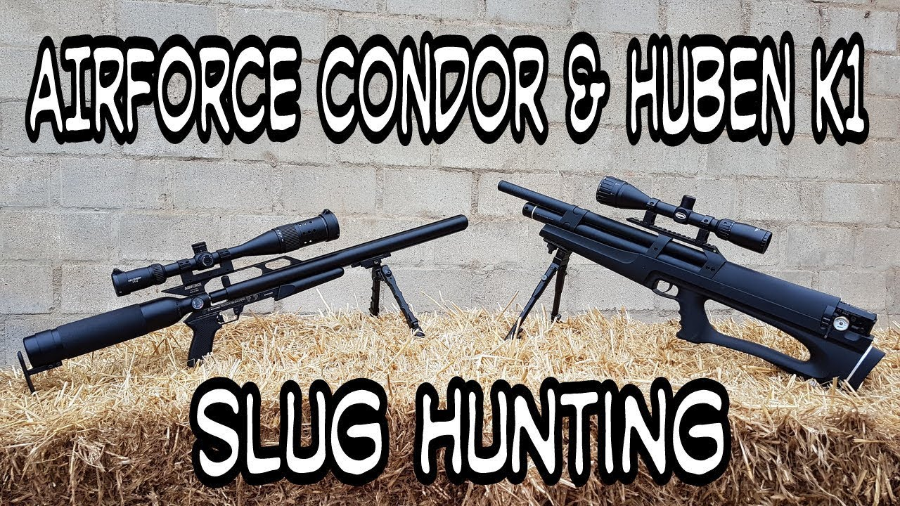 Airforce Condor & Huben K1 - Hunting with slugs by Air Hunters