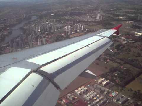 Pouso No Aeroporto De Londrina