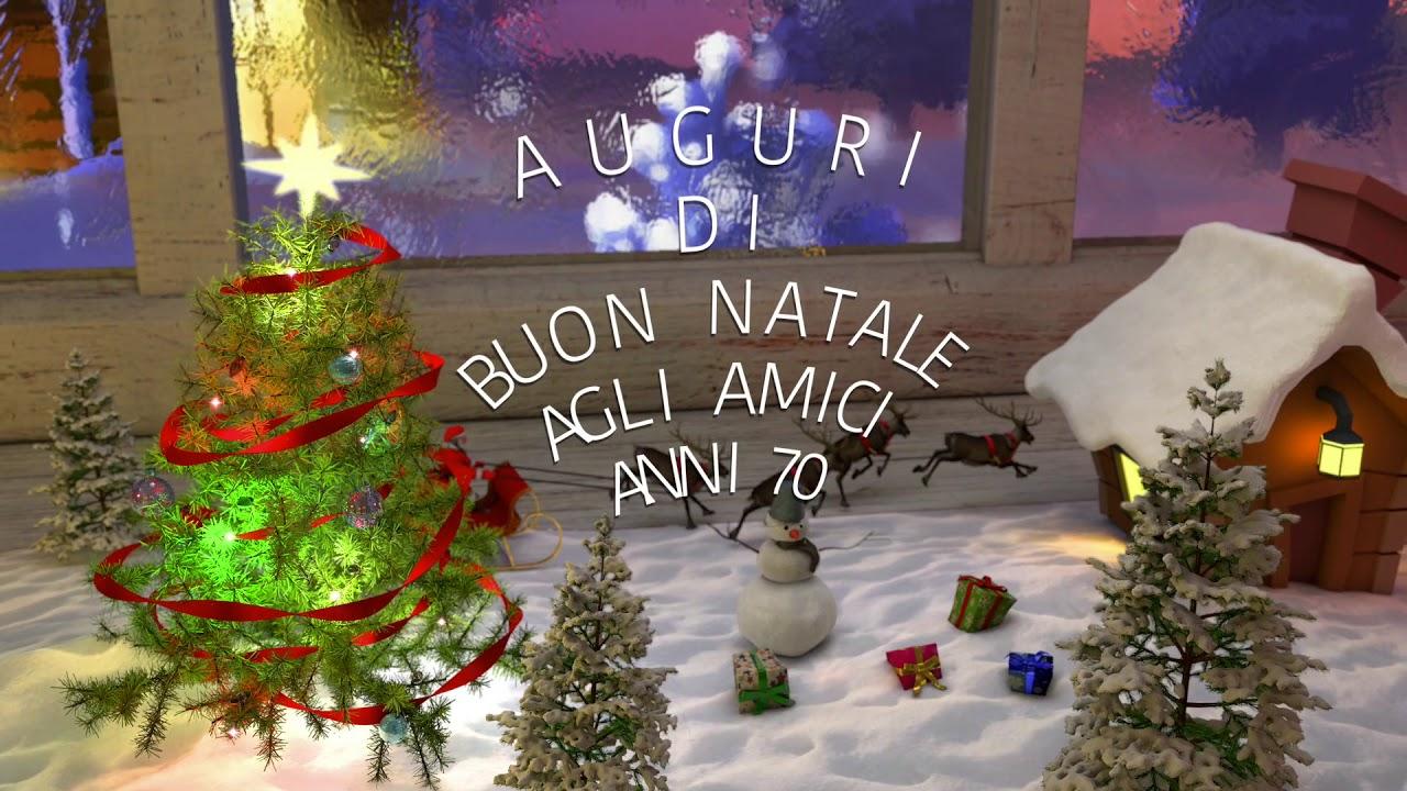 Immagini Natale Anni 70.Auguri Di Buon Natale Agli Amici Anni 70 Youtube