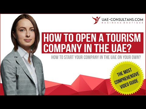How to start a tourism company in the UAE