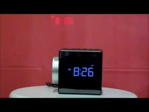 sony icf c1pj projection auto set dual alarm clock radio w nature sounds youtube. Black Bedroom Furniture Sets. Home Design Ideas