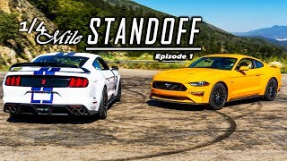 STANDOFF: 2018 Mustang GT PP Vs. Shelby GT350R | The Final Verdict! Ep.1
