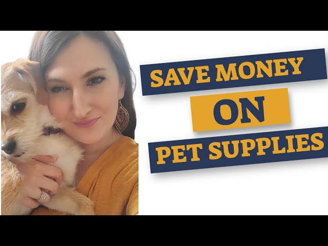 Discounted Pet Supplies - Where to find them and how to save!