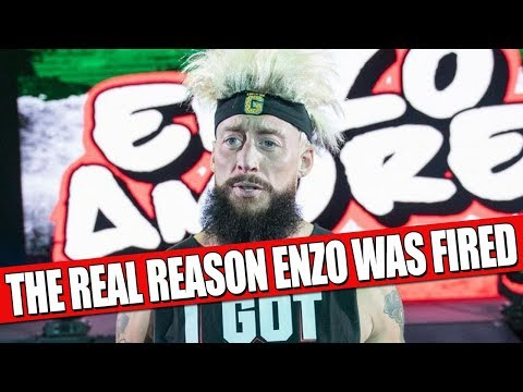 The Real Reason Enzo Amore Was Fired From WWE!