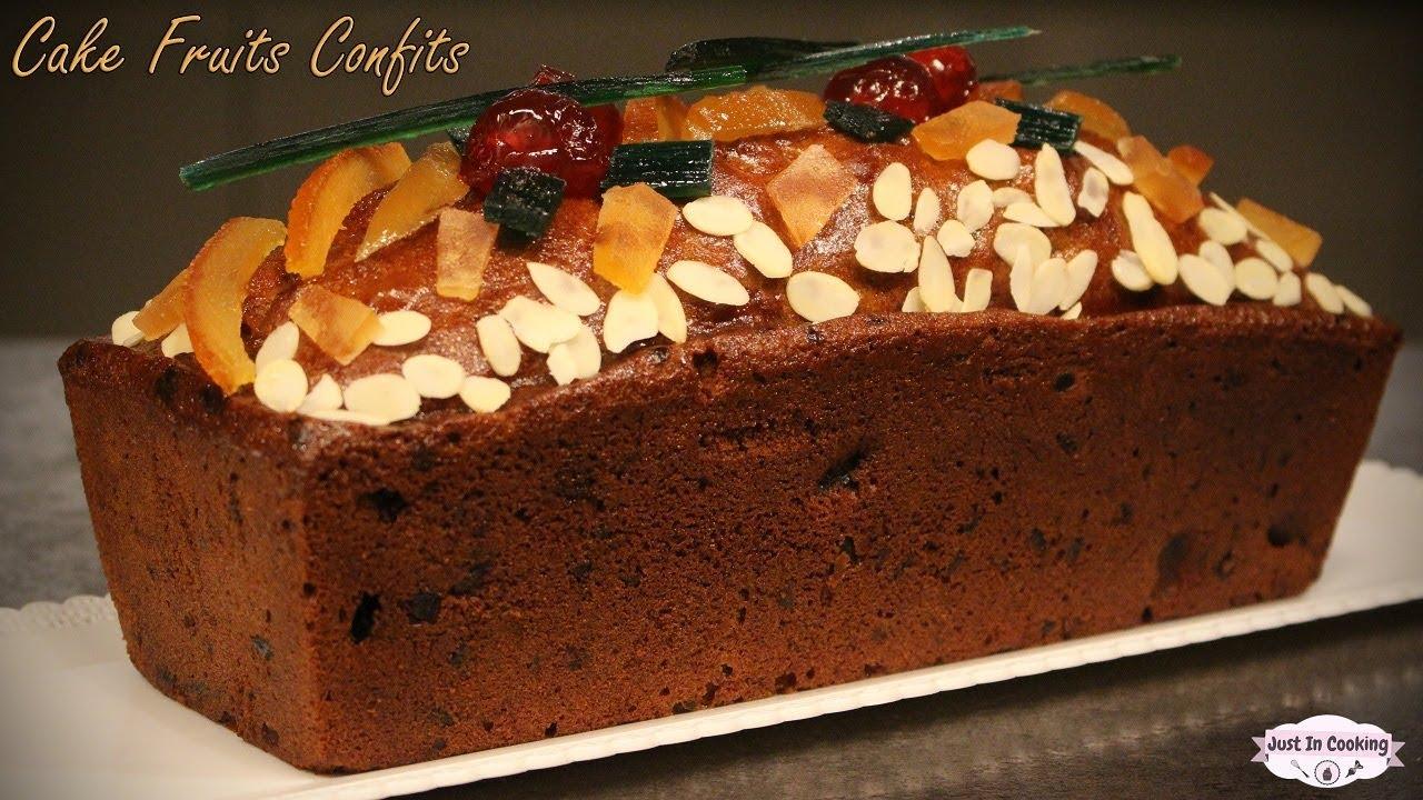 recette de cake aux fruits confits youtube. Black Bedroom Furniture Sets. Home Design Ideas