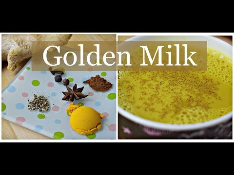Got Allergies?|How to make Golden Milk Tea / Turmeric Milk Tea