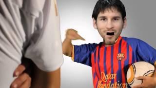cristiano ronaldo vs messi funny video