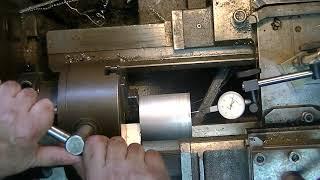 Tokarka ustawianie tuleji na czujnik pulpitas