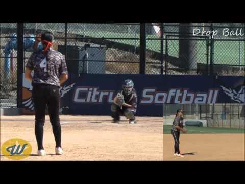 Chloe Rivas' Softball Skills Video - 2018 RHP - Firecrackers-Blanco