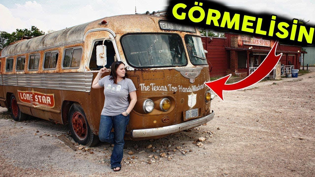 Bir Bayan Eski Bir Otobüs Satın Aldı Sonra İçine Öyle Bir Şey Yaptı Ki Gören Herkes Etkilendi..