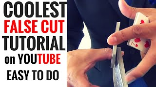 """COOLEST """"False Cut"""" Tutorial on YOUTUBE Easy To Do"""