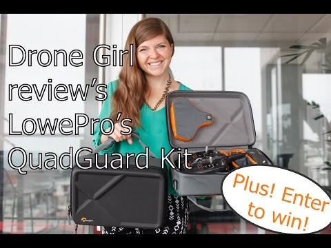 LowePro QuadGuard Kit review from The Drone Girl