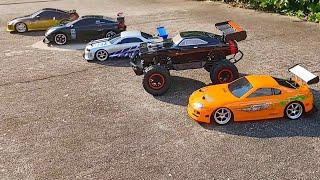 Jada Toys Fast & Furious Brian's Toyota Supra Drift R/C 1:10