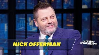 Nick Offerman Explains How Ron Swanson Would Handle Coronavirus