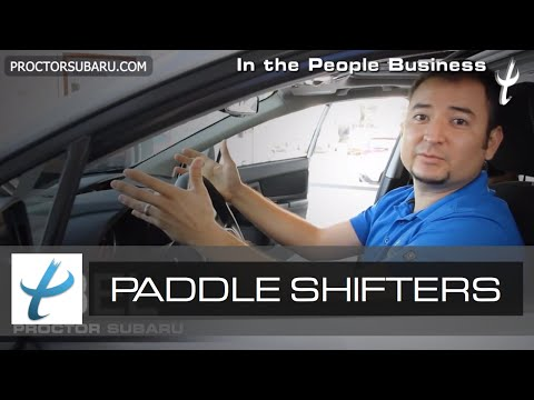 Paddle Shifter -  CVT Transmission - What...