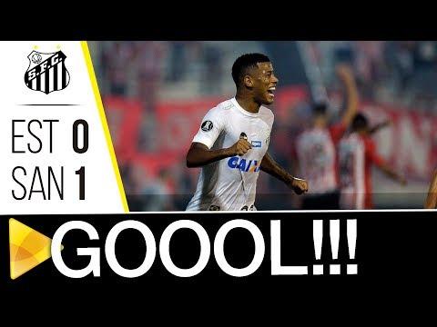 Estudiantes 0 x 1 Santos | GOL | Libertadores (05/04/18)