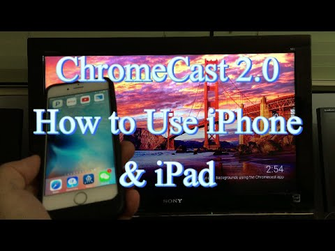 chromecast schermo iphone