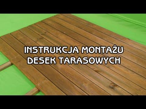 Instrukcja Montażu Desek Tarasowych Jak Wykonać Leroy