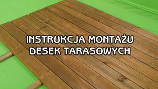 Jak wykonać montaż desek tarasowych na drewnianych legarach? Porady Leroy Merlin