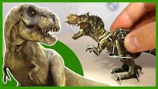Динозавры. ТИРАННОЗАВР. Конструктор. Игрушки для детей. Dinosaurs.