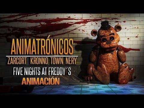 ANIMATRÓNICOS RAP ANIMACIÓN   Five Nights at Freddy's   ZARCORT-KRONNO-NERY-ITOWN - FNAF