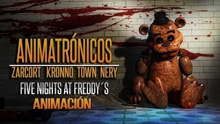 ANIMATRÓNICOS RAP ANIMACIÓN | Five Nights at Freddy's | ZARCORT-KRONNO-NERY-ITOWN - FNAF