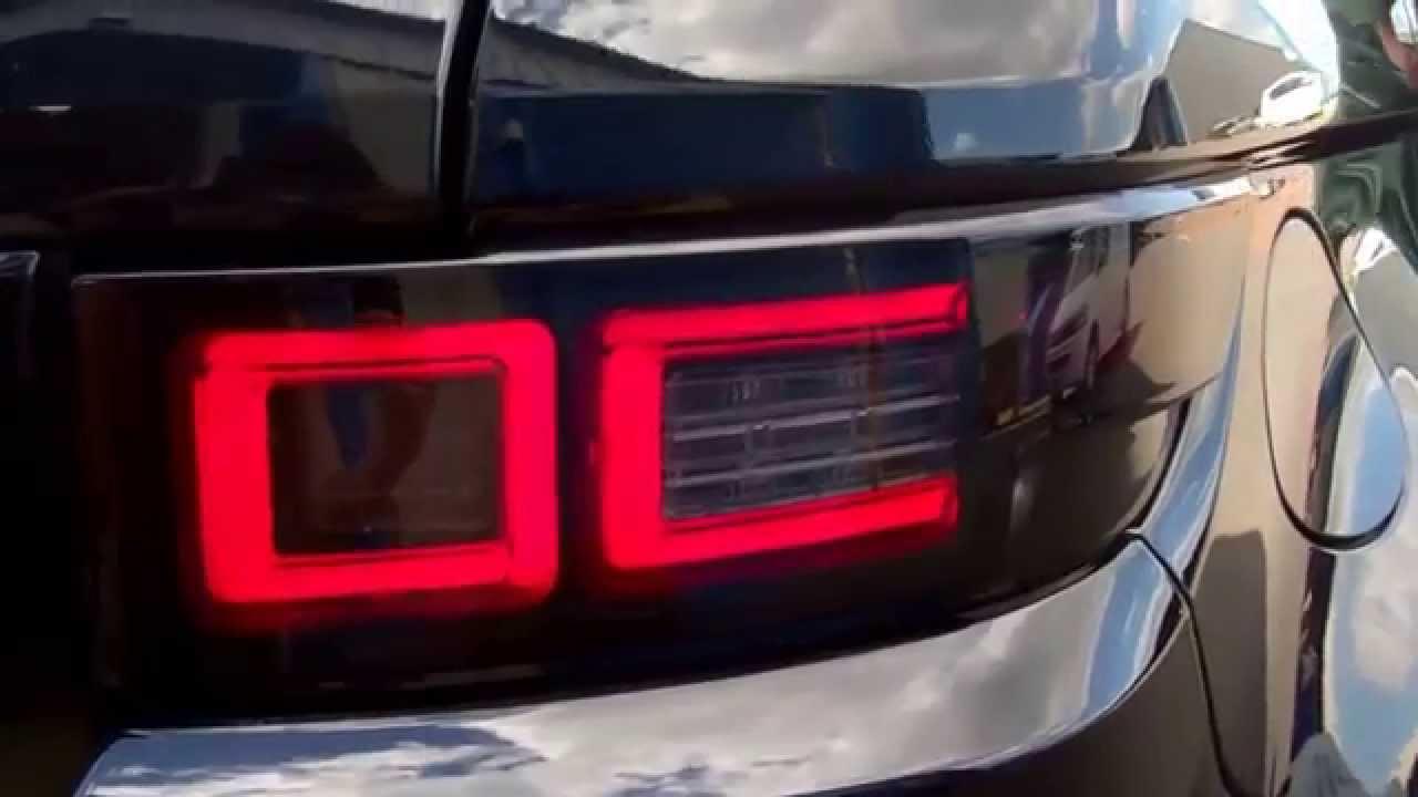 Range Rover Evoque Rear Led Light Upgrade Options Youtube