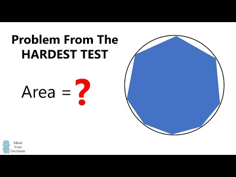 Incredible Problem From The Hardest Test