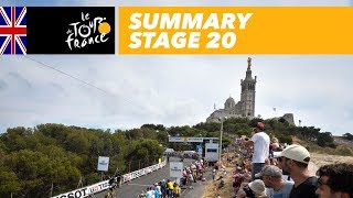 Summary - Stage 20 - Tour de France 2017
