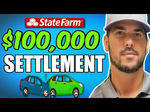 $100K Settlement for Herniated Disc in Lower Back. Car Accident with State Farm Driver