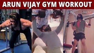 VIDEO: Arun Vijay Mass Gym Workout | Boxer | Arun Vijay