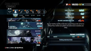 Batman Arkham Knight (AR Challenges) Gameplay #9 went back to finish this off