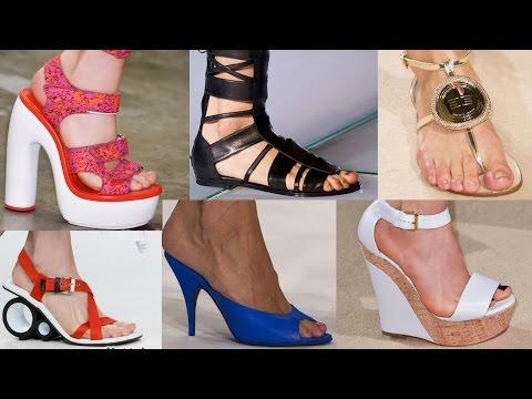 Мода Обувь Весна Лето 2015 Милан Подборка