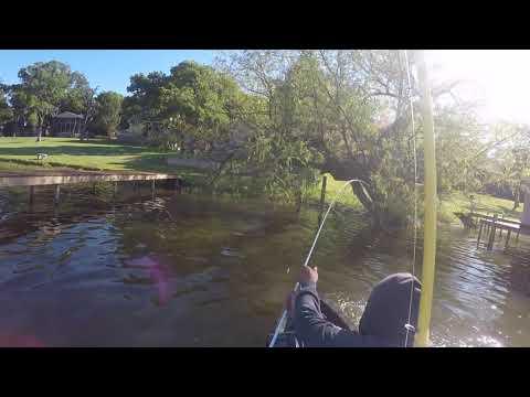 LAKE ALVARADO KAYAK FISHING