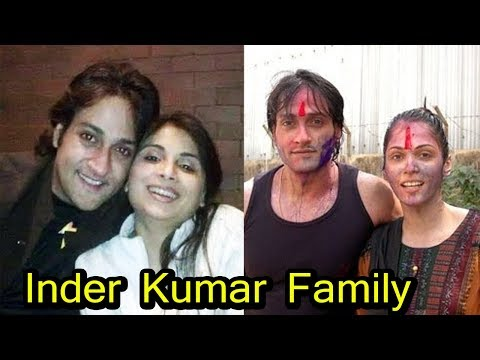 Inder Kumar With His Real Family | Daughter,Wife,Ex-Girlfriend