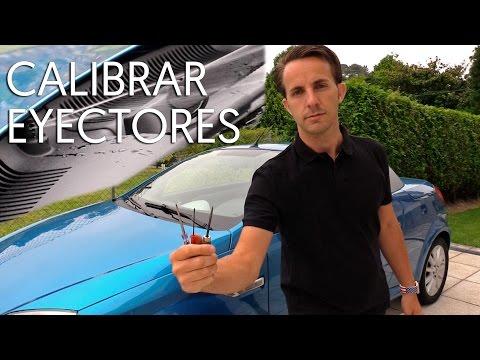 Calibrar eyectores de limpiaparabrisas   CONSEJOS