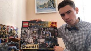 lego Lord of the Rings - Шахты Мории 9473 (Обзор Раритета)