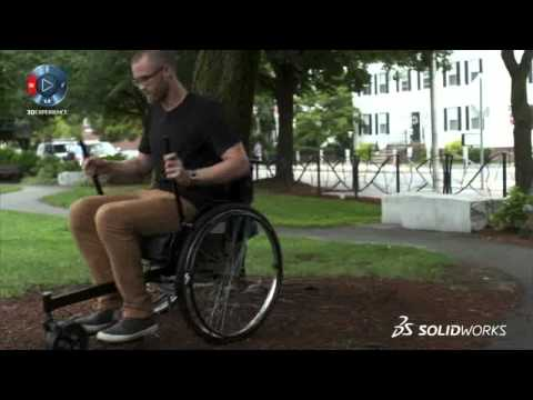 SOLIDWORKS Case Study: The Leveraged Freedom Chair