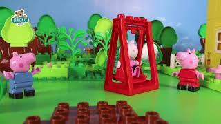 Építőjáték Peppa Pig iskolában szorzótáblával Play