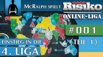 RISIKO | Multiplayer #001 (Teil 1) | Einstieg in die 4. Online-Liga |  Let's Play Risk [deutsch]