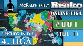 RISIKO | Multiplayer #001 (Teil 1) | Einstieg in die 4. Online-Liga |  Let's Play Risk [deutsch]