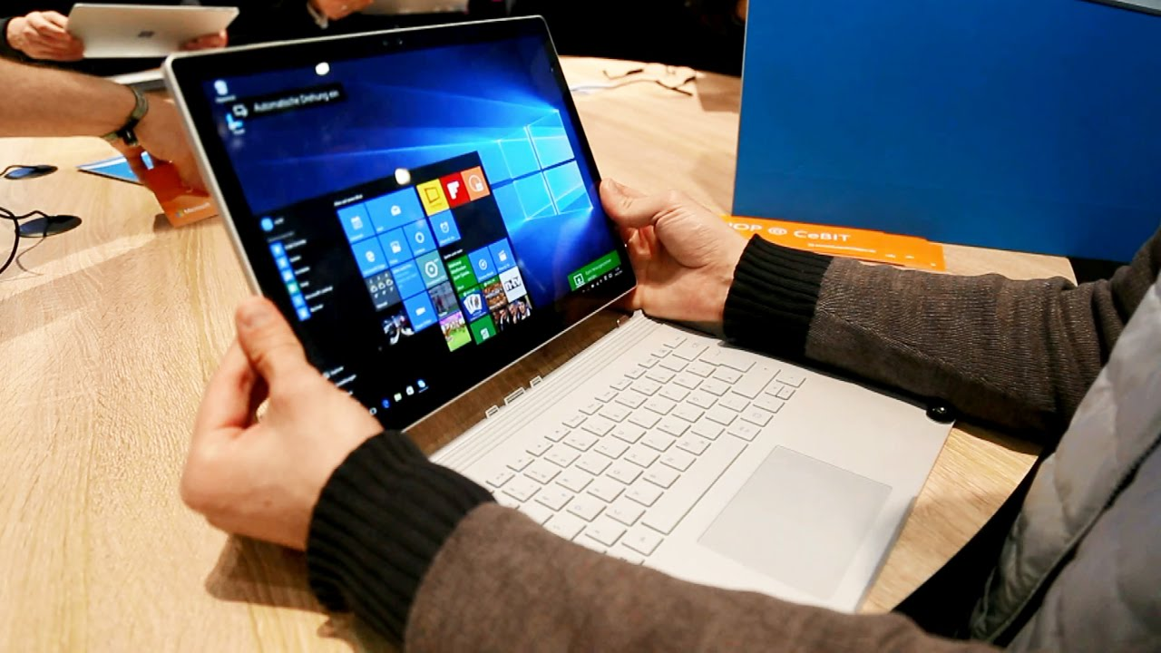 Ноутбук Microsoft Surface Book|Обзор трансформера Microsoft Surface Book