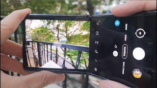 Samsung Galaxy Z Flip test Camera full Features