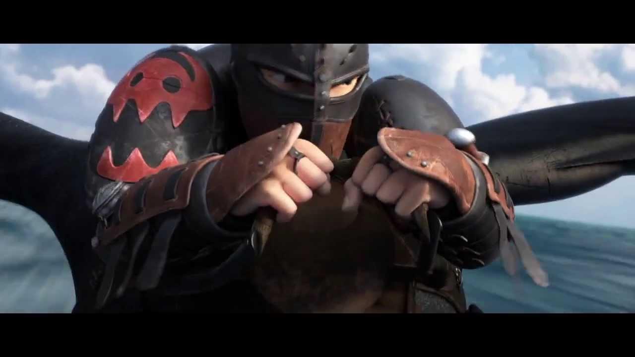 jak wytresowa smoka 2 oficjalny trailer 2014   youtube