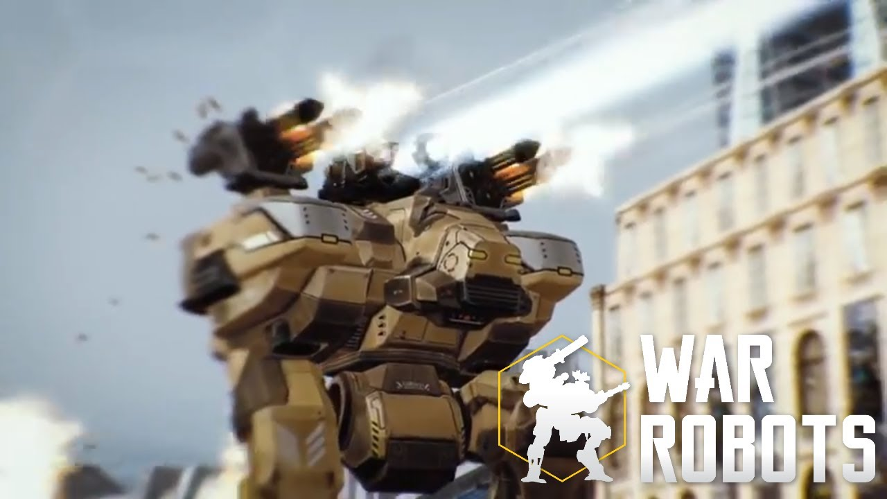 When you wake up in the middle of War Robots battle ???? WR trailer