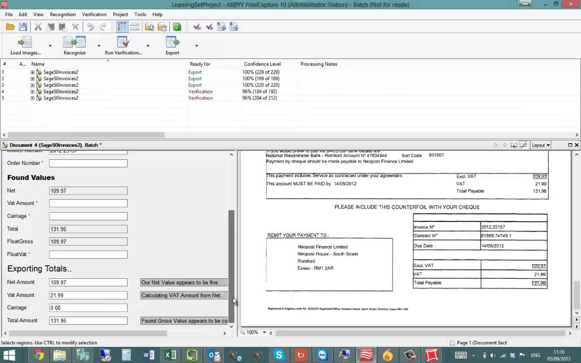 Scanning Invoices Directly Into Sage YouTube - Invoice scanner