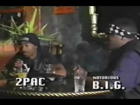 Biggie & Tupac Freestylerare footage