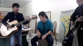 Biển Đêm (guitar cover) - CLB Guitar THPT Vân Nội 28/12/2013