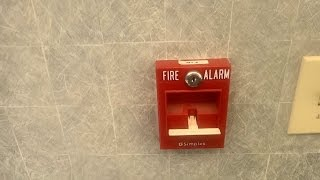 Testing the Fire Alarms at my dads Kingsport office